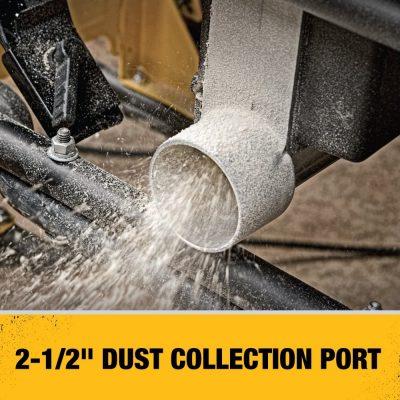 Dewalt DWE7491RS dust collection