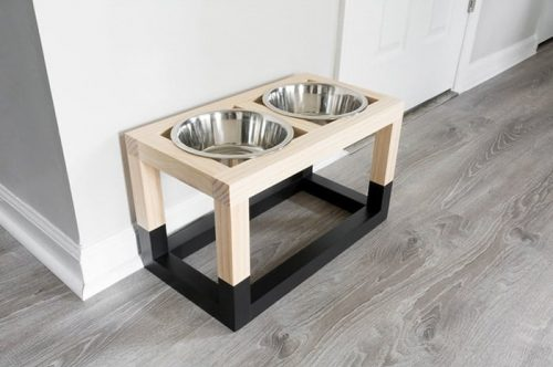 Dog Bowl Stand
