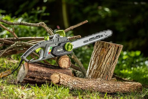 Earthwise CS33016 16-Inch 12-Amp Corded Electric Chainsaw
