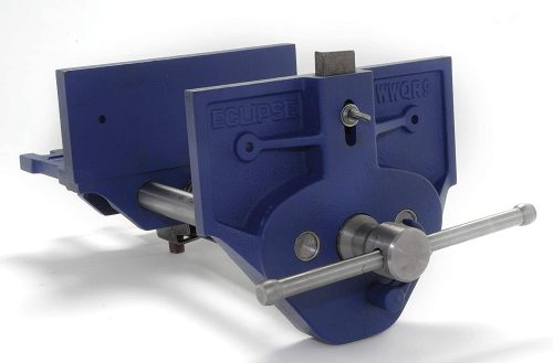 """Eclipse Quick Release Woodworking Vise 7"""" Size"""