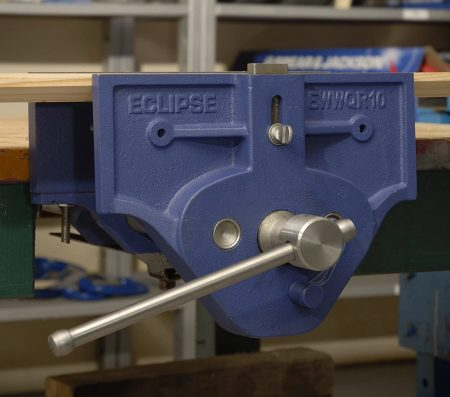 Eclipse Quick Release Woodworking Vise - close up