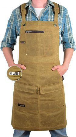 EcoZen Lifestyle Work Aprons for Men for Shop