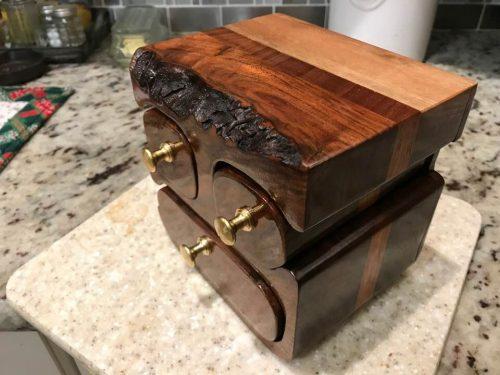 Edwin's bandsaw box