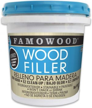 FamowWood Latex Wood Filler