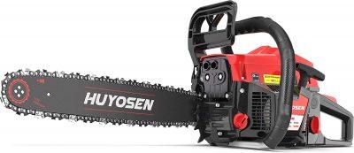 HUYOSEN 54.6CC 2-Stroke Gas Powered Chainsaw