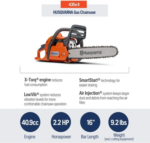 Husqvarna 435 features
