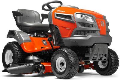 Husqvarna YTA24V48 24V Pedal Tractor Mower in Orange