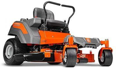 Husqvarna Z242F 42 in. 18 HP Kawasaki Hydrostatic Zero Turn Riding Mower in Orange