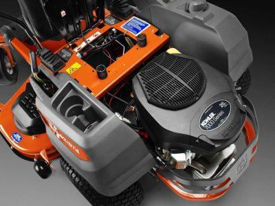 Husqvarna Z254 54 in. 26 HP Kohler Hydrostatic Zero Turn Riding Mower up close