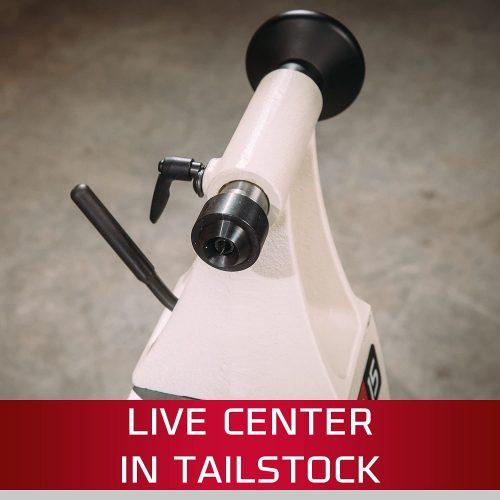JET JWL-101 Wood Lathe tailstock
