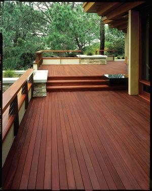 KILZ L832211 Exterior Waterproofing Wood Stain used on wood floors