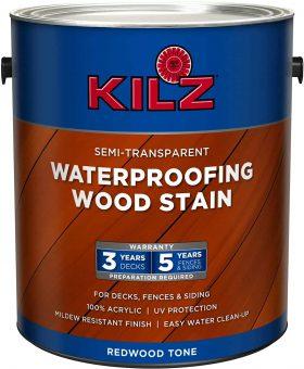 Kilz Exterior Water Based Semi-Transparent Stain