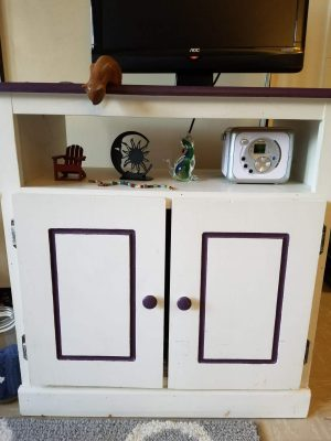 Laura woodworking cabinet TV/Stand