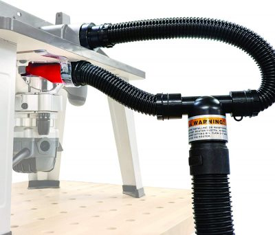 Milescraft 1501 Dust Router - Complete Dust Collection System for Router Tables