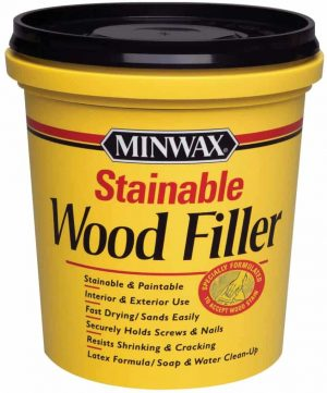Minwax 42853000 Stainable Wood Filler
