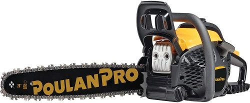 Product 2 - Poulan Pro 20 in. 50cc 2-Cycle Gas Chainsaw, PR5020