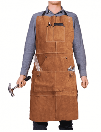 QeeLink Leather Workshop Apron
