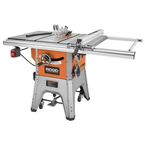 RIDGID R4512 10 in. 13-Amp Cast IronTable Saw