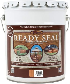 Ready Seal 512 Semi-Transparent Wood Stain And Sealer