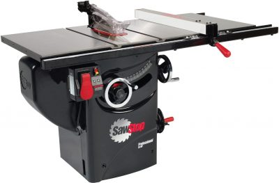 Saw Stop 10-inch blade table saw