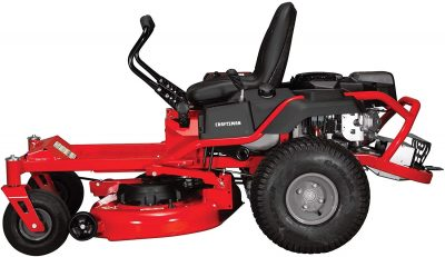 Side of Craftsman Z525 Zero Turn Gas Powered Lawn Mower
