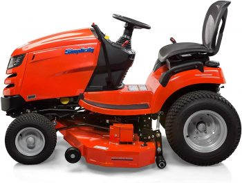 Simplicity Tractor Riding Mower Rear View