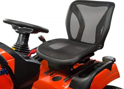 Simplicity Tractor Comfort and Safety