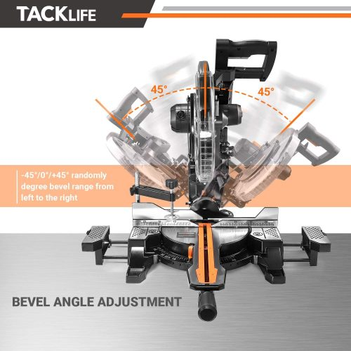 Tacklife PMS03A bevel angle adjustment