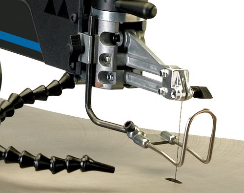 Up close of Delta Power Tools 40-694 20 In. Variable Speed Scroll Saw