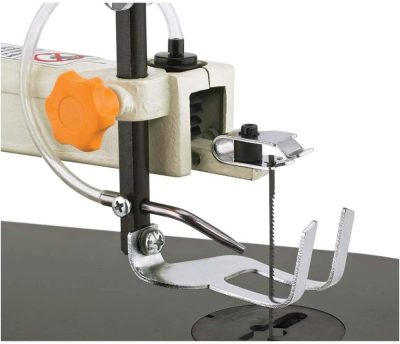 Up close of Shop Fox W1713 16-Inch Variable Speed Scroll Saw