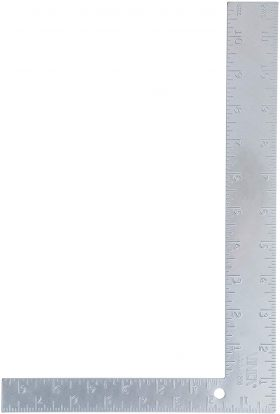 VINCA SCLS-1208 Carpenter L Framing Square 8 inch Tool