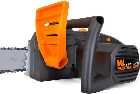 WEN 4017 Electric Chainsaw - close up