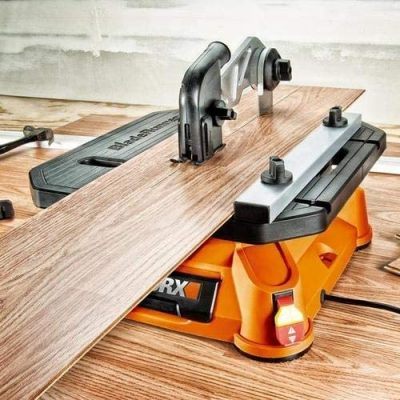 WORX WX572L BladeRunner x2 Portable Tabletop Saw - Close up