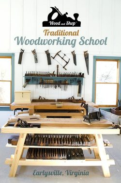 Woodworking Northern Virginia - Wood and Shop Traditional Woodworking School
