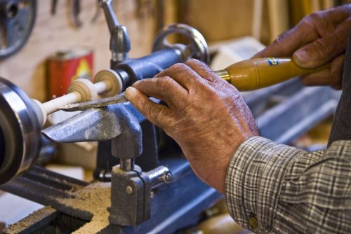 image of old person woodworking
