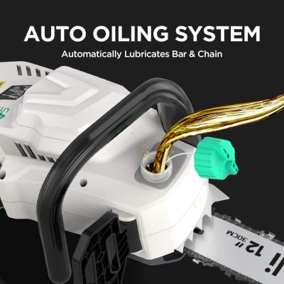 Auto Oiling System of LiTHELi 40V Handheld Cordless Chainsaw