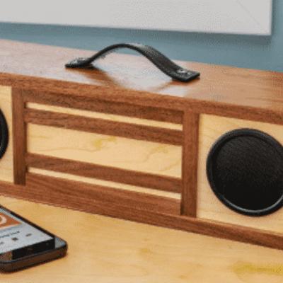 stereo speaker box