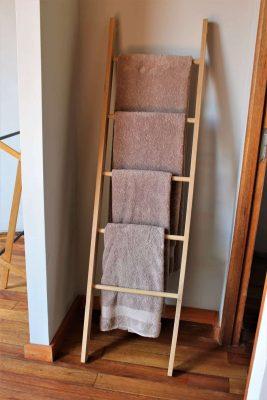 towel rack ladder