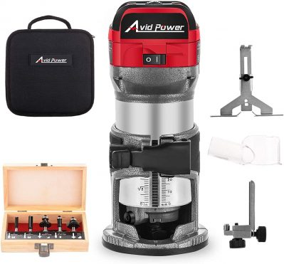Avid Power 6.5-Amp 1.25 HP Compact Router