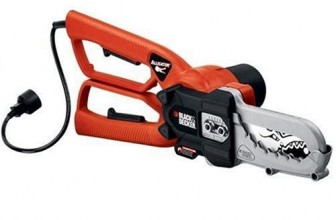 Black+Decker LP1000 Alligator Lopper Chainsaw Review