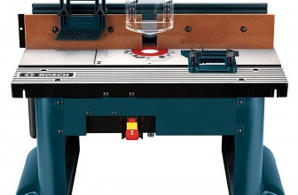 Woodworking Equipment Review: Bosch RA1181 Router Table