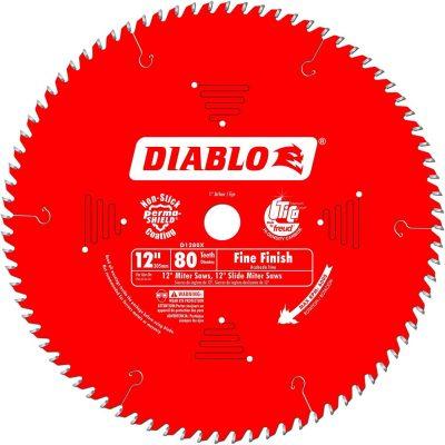 Freud D1280X Diablo 12-Inch 80 Tooth ATB Crosscutting Saw Blade