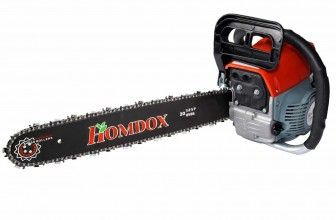 Homdox 20″ 52CC Chainsaw Review