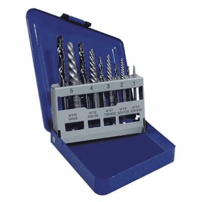IRWIN Screw Extractor: Drill Bit Set, 10-Piece