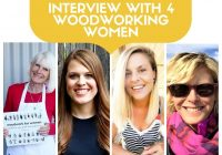 Interview with 4 Woodworking Women