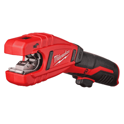 Milwaukee 2471-20 M12 Cordless Lithium Ion 500 RPM Copper Pipe and Tubing Cutter