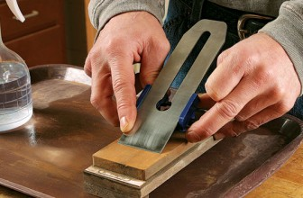 How to Sharpen a Plane Iron