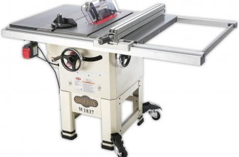 Shop Fox W1837 10″ Open Stand Hybrid Table Saw Review