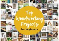Top 100 Easiest Woodworking Projects for Beginners