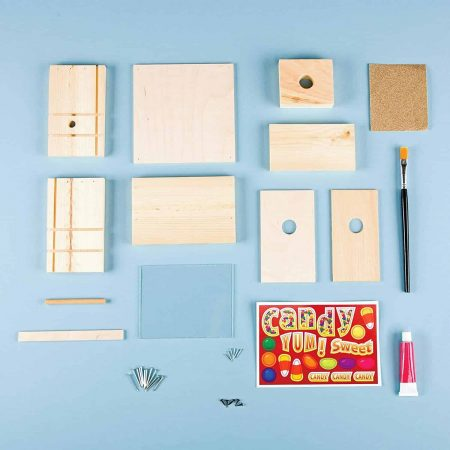 Young Woodworkers Kit Club Materials